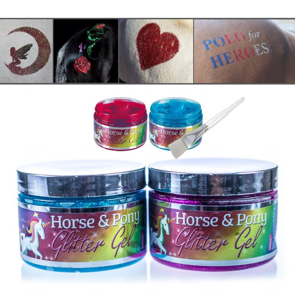 EquiFashion Horse and Pony Glitter Gel - ONLY £4.99 at Equifashion
